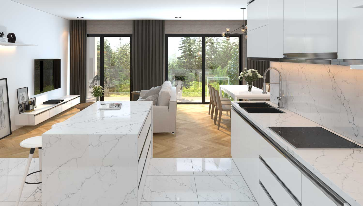 Vicostone Kitchen Countertops, Quartz Surfaces, Quartz