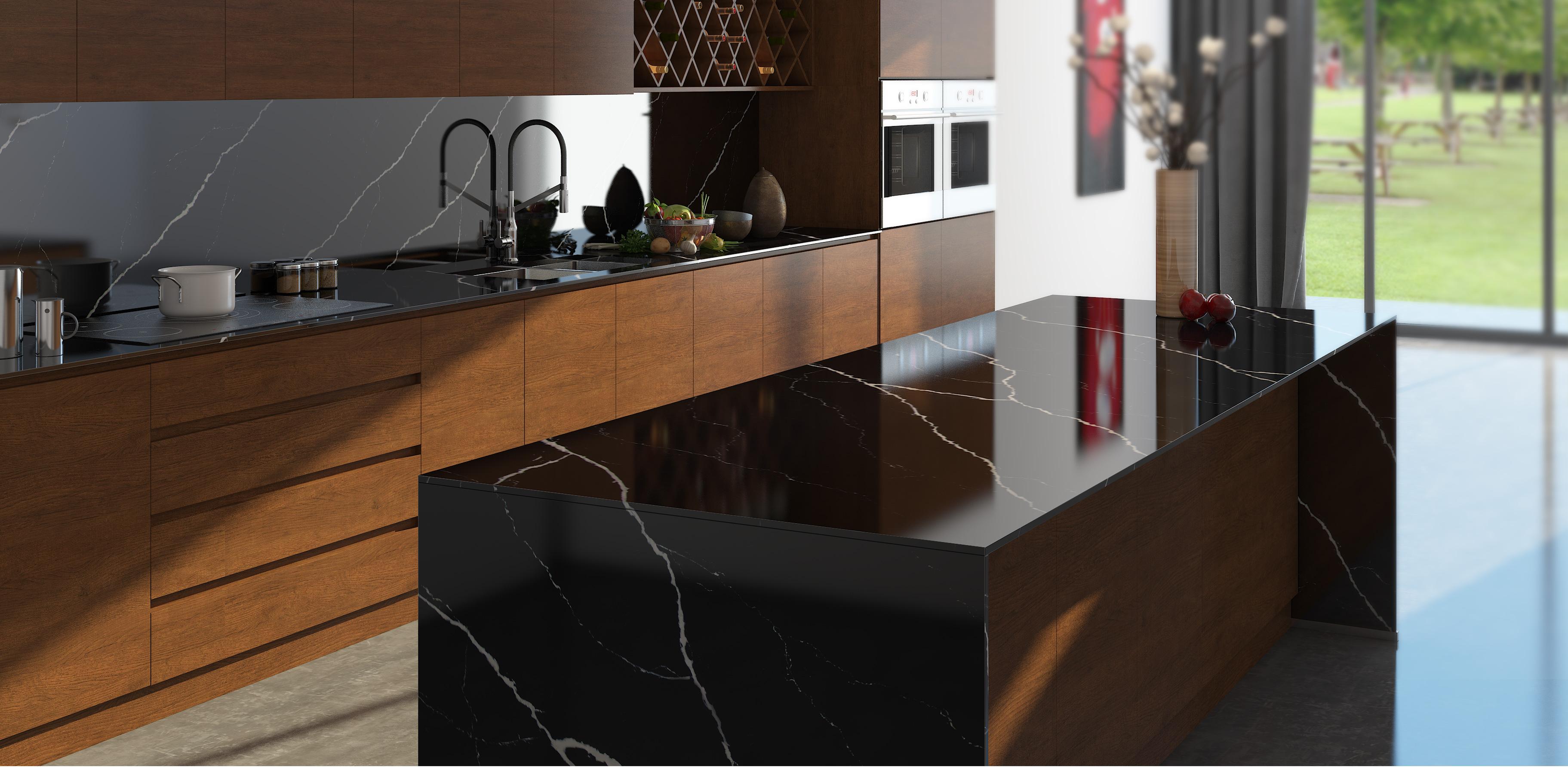Vicostone Kitchen Countertops Quartz Surfaces Quartz